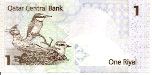 Qatar Central Bank  1 Riyal  ND Issue Dimensions: 200 X 100, Type: JPEG