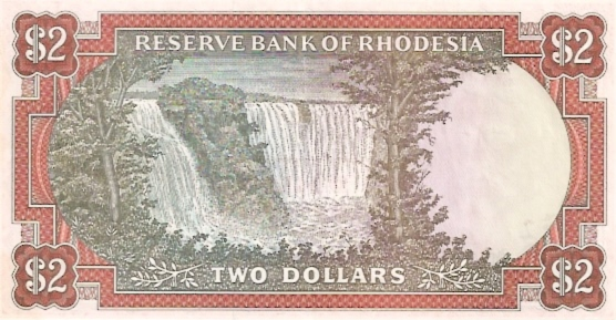 Reserve Bank of Rhodesia  2 Dollars  ND Issue Dimensions: 200 X 100, Type: JPEG