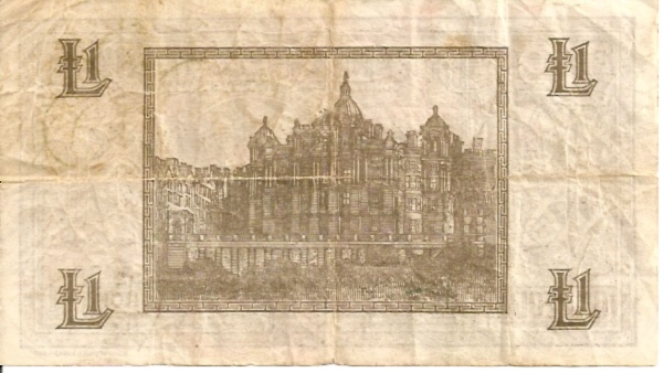 Bank of Scotland  1 Pound  March 1937 Issue Dimensions: 200 X 100, Type: JPEG