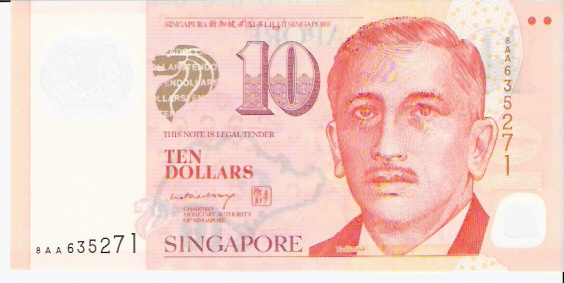 Board of Commissioners of Currency  10 Dollar  1999 ND Issue Dimensions: 200 X 100, Type: JPEG