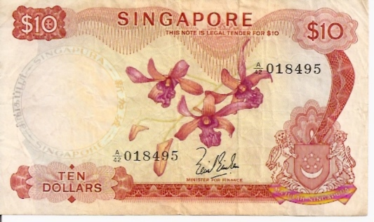 Board of Commissioners of Currency  10 Dollars  ND Issue Dimensions: 200 X 100, Type: JPEG