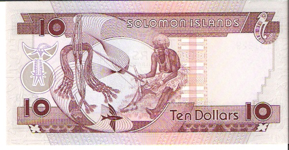 Solomon Island Monetary Authority  10 Dollars  1981 ND Issue Dimensions: 200 X 100, Type: JPEG