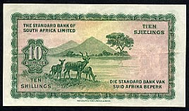 The Standard Bank of South Africa  10 Shilling  1944 Issue Dimensions: 200 X 100, Type: JPEG