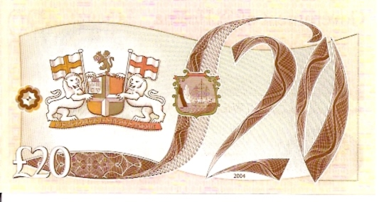 Government of Saint Helena 20 Pounds ND Issue Dimensions: 200 x 100 Type: JPEG
