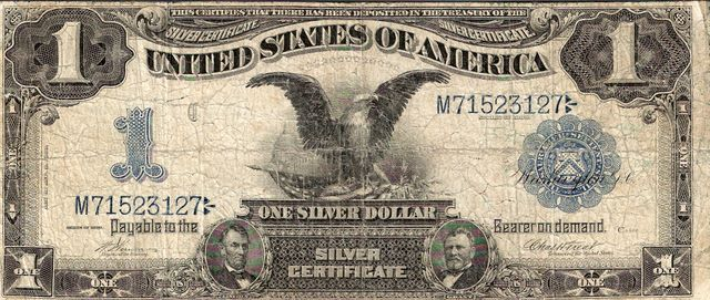 United States of America  1 Dollar (Silver Certificate)  Special Currency - Two President on the Bill Dimensions: 200 X 100, Type: JPEG
