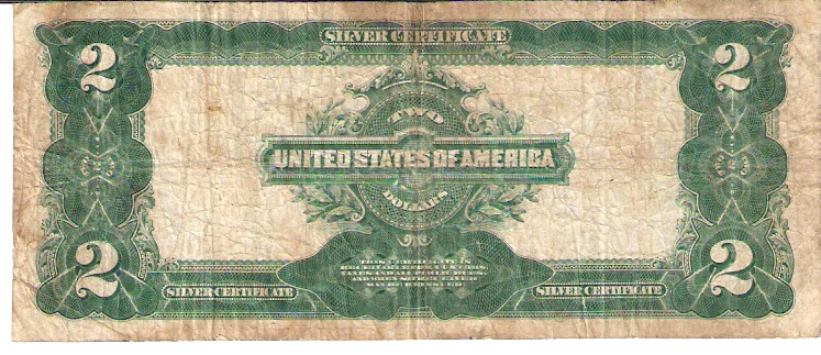 United States of America  2 Dollar   Silver Certificate Dimensions: 200 X 100, Type: JPEG