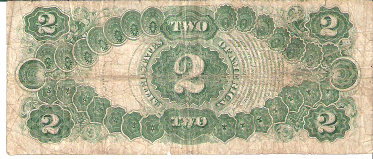 United States of America  2 Dollar  1917 Series  Washington DC Dimensions: 200 X 100, Type: JPEG