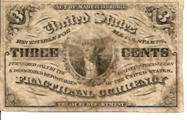 United States of America  Fractional Currency  3 Cents  Lowest Paper Currency of USA Dimensions: 200 X 100, Type: JPEG