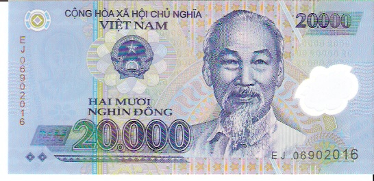 State Bank of Viet Nam  20000 Dong  1994 ND Issue Dimensions: 200 X 100, Type: JPEG
