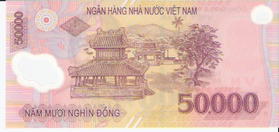 State Bank of Viet Nam  50000 Dong  1994 ND Issue Dimensions: 200 X 100, Type: JPEG