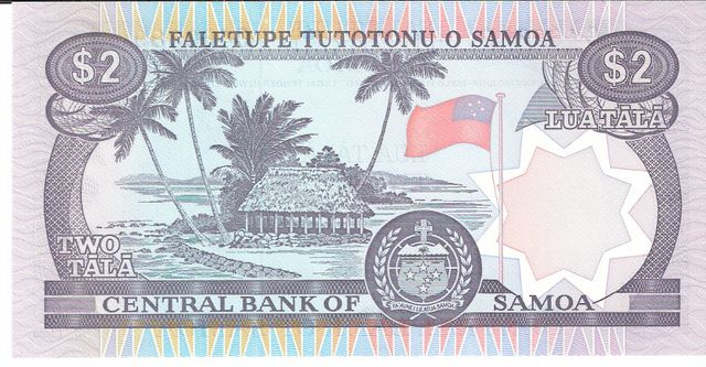 Central Bank of Samoa  2 Tala Dimensions: 200 X 100, Type: JPEG