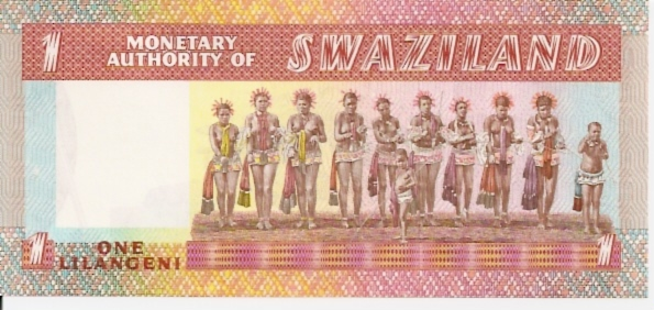 Monetary Authority of Swaziland  1 Emalangeni  1974-1978 Issue Dimensions: 200 X 100, Type: JPEG