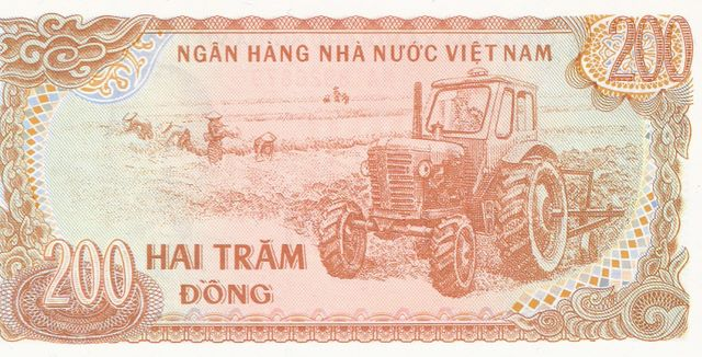 National Bank of Viet Nam  200 Dong  1969 Issue Dimensions: 200 X 100, Type: JPEG