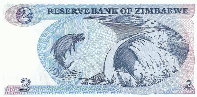 Reserve Bank of Zimbabwe  2 Dollars  1980 Issue Dimensions: 200 X 100, Type: JPEG