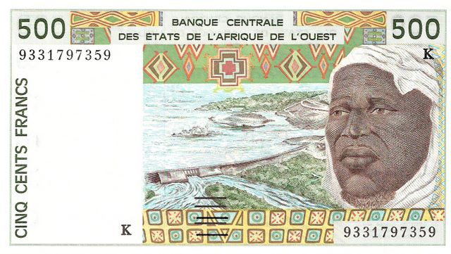 Banque Central  500 Francs  K-Senegal Dimensions: 200 X 100, Type: JPEG