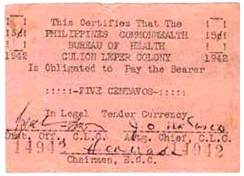 Leprosey Colony near Philipines  50 Centavos  Does not exist anymore Dimensions: 200 X 100, Type: JPEG