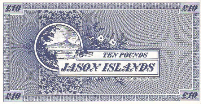 Jason Islands  10 Pound  Private Island Currency Dimensions: 200 X 100, Type: JPEG
