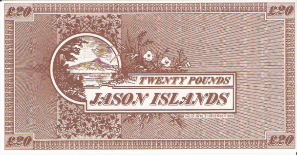 Jason Islands  20 Pound  Private Island Currency Dimensions: 200 X 100, Type: JPEG