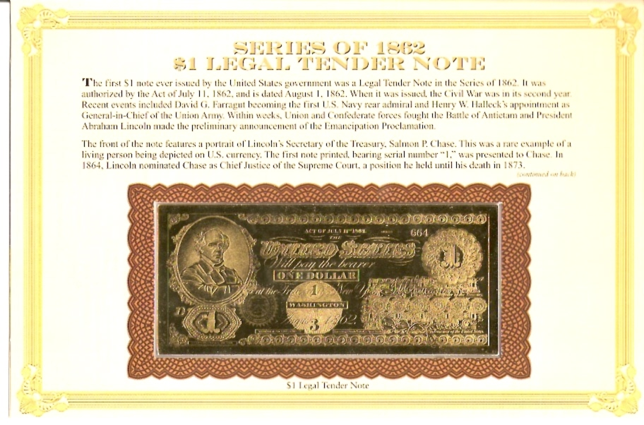 Series of 1862