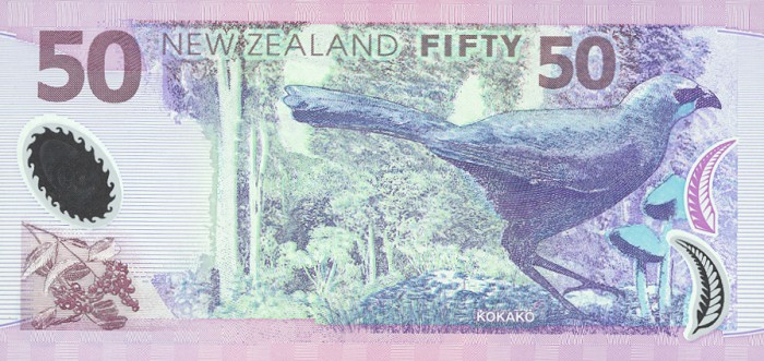 Government of New Zealand  50 Dollars    No Date Issue  Printed on Polymer (Plastic) Paper Dimensions: 200 X 100, Type: JPEG
