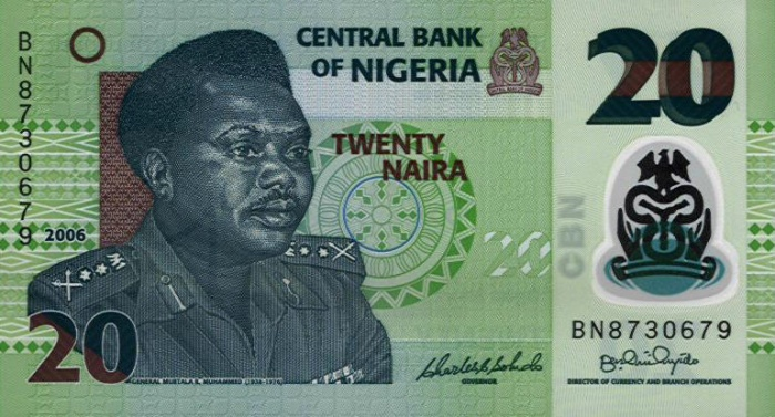 Government of Nigeria  20 Naira    No Date Issue  Printed on Polymer (Plastic) Paper Dimensions: 200 X 100, Type: JPEG