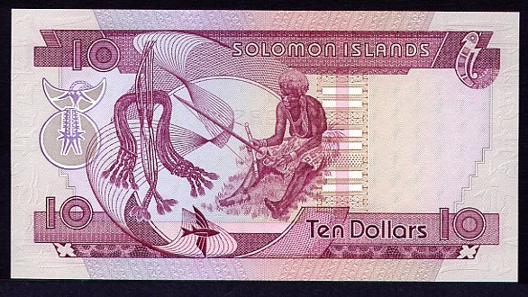 Government of Solomon Islands   10 Dollars    No Date Issue  Queen Elizabeth II Printed on this Currency Dimensions: 200 X 100, Type: JPEG